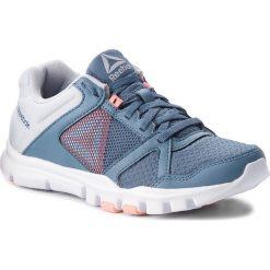 Buty Reebok - Yourflex Trainette 10 Mt CN4730 Blue/Grey/Pink/White. Niebieskie obuwie sportowe damskie Reebok, z materiału. W wyprzedaży za 159.00 zł.