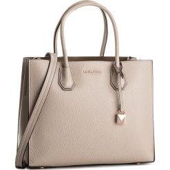 Torebka MICHAEL MICHAEL KORS - Mercer 30S8TM9T3L Soft Pink. Brązowe torby na ramię damskie MICHAEL Michael Kors. W wyprzedaży za 1,219.00 zł.