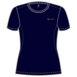 Odlo Koszulka damska Catherine Crew Neck granatowa r. S (200841). T-shirty damskie Odlo. Za 58.55 zł.