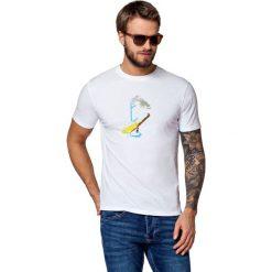 Koszulka Biała Jerry. Białe t-shirty i topy dla dziewczynek LANCERTO, z nadrukiem, z bawełny. W wyprzedaży za 59.90 zł.