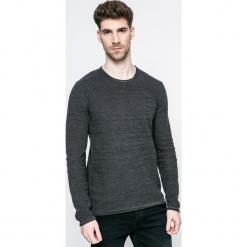 Blend - Sweter. Czarne swetry przez głowę męskie Blend, z bawełny, z okrągłym kołnierzem. W wyprzedaży za 59.90 zł.