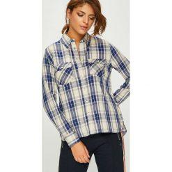 Pepe Jeans - Koszula Memphis. Szare koszule damskie Pepe Jeans, z jeansu, z długim rękawem. Za 279.90 zł.