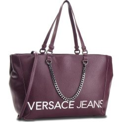 Torebka VERSACE JEANS - E1VSBBB3 70709 331. Fioletowe torebki do ręki damskie Versace Jeans, z jeansu. Za 799.00 zł.