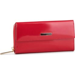 Duży Portfel Damski MONNARI - PUR0711-005 Red. Czerwone portfele damskie Monnari, z lakierowanej skóry. Za 239.00 zł.