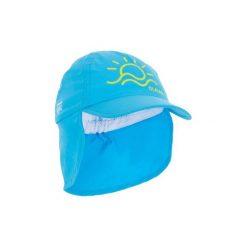 Czapka z daszkiem UV surfing dla malucha. Niebieskie czapki i kapelusze damskie OLAIAN, z materiału. W wyprzedaży za 12.99 zł.