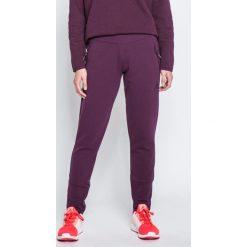 Adidas Performance - Spodnie. Szare spodnie sportowe damskie adidas Performance, z bawełny. W wyprzedaży za 239.90 zł.