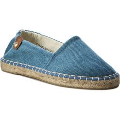 Espadryle TAMARIS - 1-24610-28 Navy Jeans 807. Niebieskie espadryle damskie Tamaris, z jeansu. Za 129.90 zł.