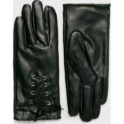 Trendyol - Rękawiczki. Czerwone rękawiczki damskie Trendyol, z materiału. Za 59.90 zł.