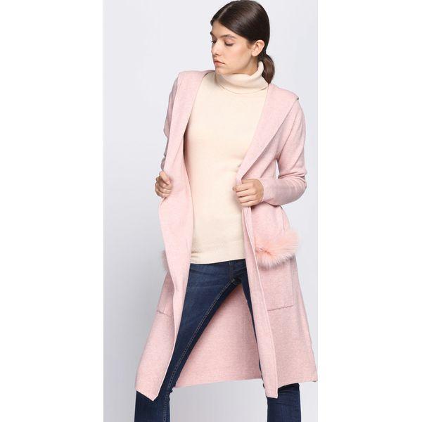 825f59cc52e467 Różowe kardigany damskie marki Born2be - Kolekcja zima 2019 - Chillizet.pl