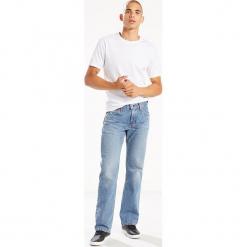 """Dżinsy """"527®"""" - Slim Bootcut fit - w kolorze błękitnym. Niebieskie jeansy męskie Levi's. W wyprzedaży za 195.95 zł."""