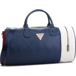 Torebka GUESS - TM6589 POL91  BLM. Niebieskie torebki do ręki damskie Guess, z aplikacjami, ze skóry ekologicznej. Za 469.00 zł.