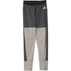 Adidas Spodnie Tri-Blend Tight grafitowe r. M (AY0185). Spodnie dresowe damskie marki bonprix. Za 124.56 zł.