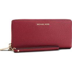 Duży Portfel Damski MICHAEL MICHAEL KORS - Money Pieces 32F6GM9E9L Maroon. Czerwone portfele damskie MICHAEL Michael Kors, ze skóry. Za 699.00 zł.