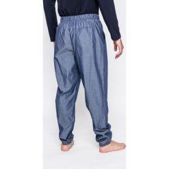 Emporio Armani - Spodnie piżamowe. Szare piżamy męskie Emporio Armani, z materiału. W wyprzedaży za 399.90 zł.