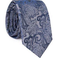 Jedwabny krawat KWGR000274. Szare krawaty i muchy Giacomo Conti, z jedwabiu. Za 129.00 zł.