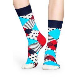Happy Socks - Skarpety Multi. Szare skarpety męskie Happy Socks, z bawełny. W wyprzedaży za 27.90 zł.
