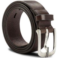 Pasek Męski JOOP! - JEANS 7622 100 D'Brown A02. Brązowe paski damskie JOOP!, w paski, z jeansu. W wyprzedaży za 249.00 zł.