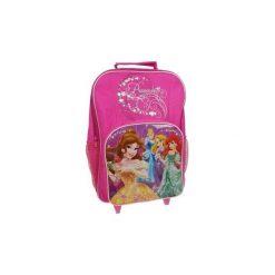 Disney Princess Walizka Na Kółkach Plecak Kurier. Różowe torby i plecaki dziecięce Świat Bajek. Za 79.00 zł.