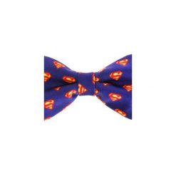 Mucha Superman. Niebieskie krawaty i muchy Underbeard, z motywem z bajki. Za 89.00 zł.
