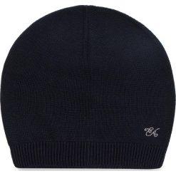 Czapka EMPORIO ARMANI - 394552 8A510 06935 S Navy Blue. Niebieskie czapki i kapelusze damskie Emporio Armani, z materiału. Za 319.00 zł.