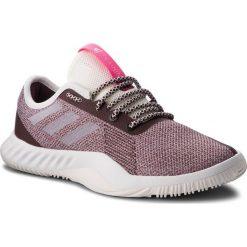 Buty adidas - CrazyTrain Lt W DA8954  Clowhi/Ngtred/Shopnk. Brązowe obuwie sportowe damskie Adidas, z materiału. W wyprzedaży za 229.00 zł.