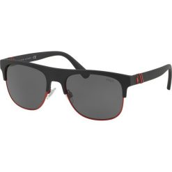 Polo Ralph Lauren - Okulary 0PH4132. Brązowe okulary przeciwsłoneczne męskie Polo Ralph Lauren, z materiału. Za 499.90 zł.