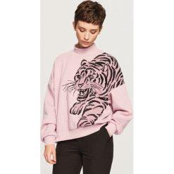 Bluza z tygrysem - Różowy. Bluzy damskie marki KALENJI. W wyprzedaży za 59.99 zł.