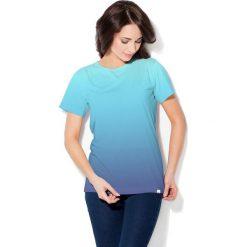 Colour Pleasure Koszulka CP-030  60 błękitno-niebieska r. XS/S. Bluzki damskie Colour Pleasure. Za 70.35 zł.