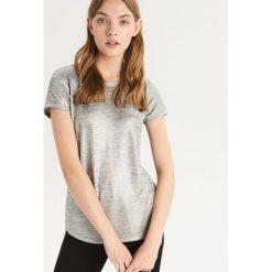 T-shirt basic - Srebrny. Szare t-shirty damskie Sinsay. Za 39.99 zł.
