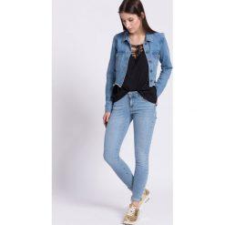 Vero Moda - Jeansy Five. Niebieskie jeansy damskie Vero Moda. W wyprzedaży za 99.90 zł.