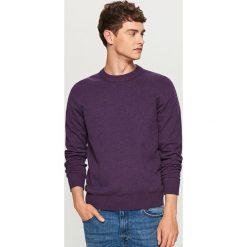 Gładki sweter - Fioletowy. Swetry przez głowę męskie marki Giacomo Conti. Za 79.99 zł.