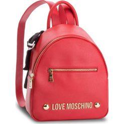 Plecak LOVE MOSCHINO - JC4307PP06KU0500 Rosso. Czerwone plecaki damskie Love Moschino, ze skóry ekologicznej, eleganckie. Za 839.00 zł.