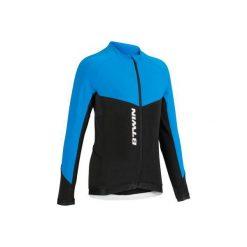 Bluza na rower 500 JR. Niebieskie bluzy dla dziewczynek B'TWIN. Za 79.99 zł.
