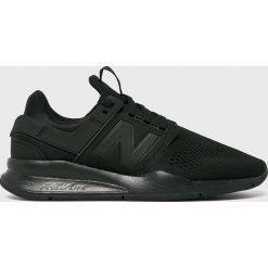 New Balance - Buty MS247EK. Czarne buty sportowe męskie New Balance, z materiału. Za 399.90 zł.