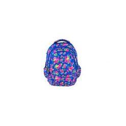 Plecak młodzieżowy St.Right FLOVERS NAVY BLUE. Niebieskia torby i plecaki dziecięce St-Majewski, z materiału. Za 99.00 zł.