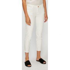 U.S. Polo - Spodnie. Szare spodnie materiałowe damskie U.S. Polo, z bawełny. W wyprzedaży za 279.90 zł.