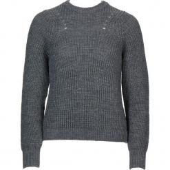 Sweter w kolorze szarym. Szare swetry damskie Gottardi, z wełny, z okrągłym kołnierzem. W wyprzedaży za 130.95 zł.