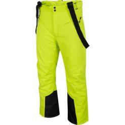Spodnie narciarskie męskie SPMN251 - soczysta zieleń. Spodnie snowboardowe męskie marki WED'ZE. Za 399.99 zł.
