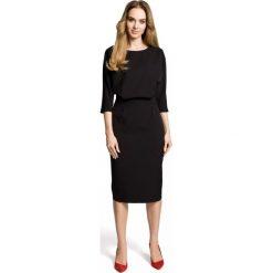 Sukienka odcinana w pasie moe360. Czarne sukienki damskie MOE. Za 129.00 zł.
