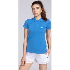 Koszulka polo damska TSD017 - kobalt. Koszulki sportowe damskie marki WED'ZE. W wyprzedaży za 54.99 zł.