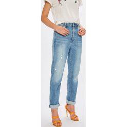 G-Star Raw - Jeansy Midge. Niebieskie jeansy damskie G-Star Raw. W wyprzedaży za 479.90 zł.