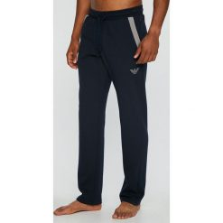 Emporio Armani - Spodnie piżamowe. Szare piżamy męskie Emporio Armani, z bawełny. W wyprzedaży za 319.90 zł.