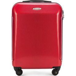 Walizka kabinowa 56-3P-971-30. Czerwone walizki damskie Wittchen, z gumy. Za 179.00 zł.