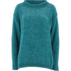 Sweter z szenili bonprix kobaltowy. Swetry damskie marki KALENJI. Za 37.99 zł.