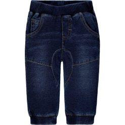 Dżinsy w kolorze granatowym. Jeansy dla chłopców marki Reserved. W wyprzedaży za 47.95 zł.