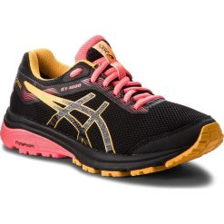 Buty ASICS - GT-1000 7 G-Tx GORE-TEX 1012A031 Black/Amber 001. Czarne obuwie sportowe damskie Asics, z gore-texu. W wyprzedaży za 379.00 zł.