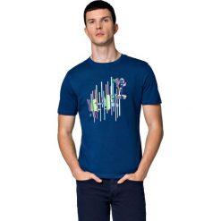 Koszulka Niebieska Jerry. Niebieskie t-shirty i topy dla dziewczynek LANCERTO, z aplikacjami, z bawełny. W wyprzedaży za 59.90 zł.