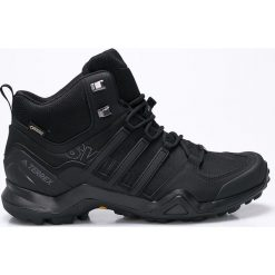 Adidas Performance - Buty Terrex Swift R2 Mid. Czarne buty sportowe męskie adidas Performance, z gore-texu. W wyprzedaży za 599.90 zł.