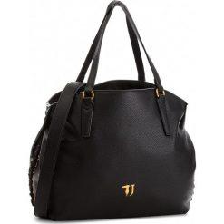 Torebka TRUSSARDI JEANS - Lavanda 75B00447 K299. Czarne torby na ramię damskie TRUSSARDI JEANS. Za 679.00 zł.
