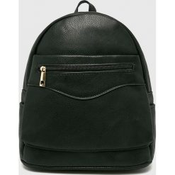 Answear - Plecak. Czarne plecaki damskie ANSWEAR, z materiału. Za 99.90 zł.